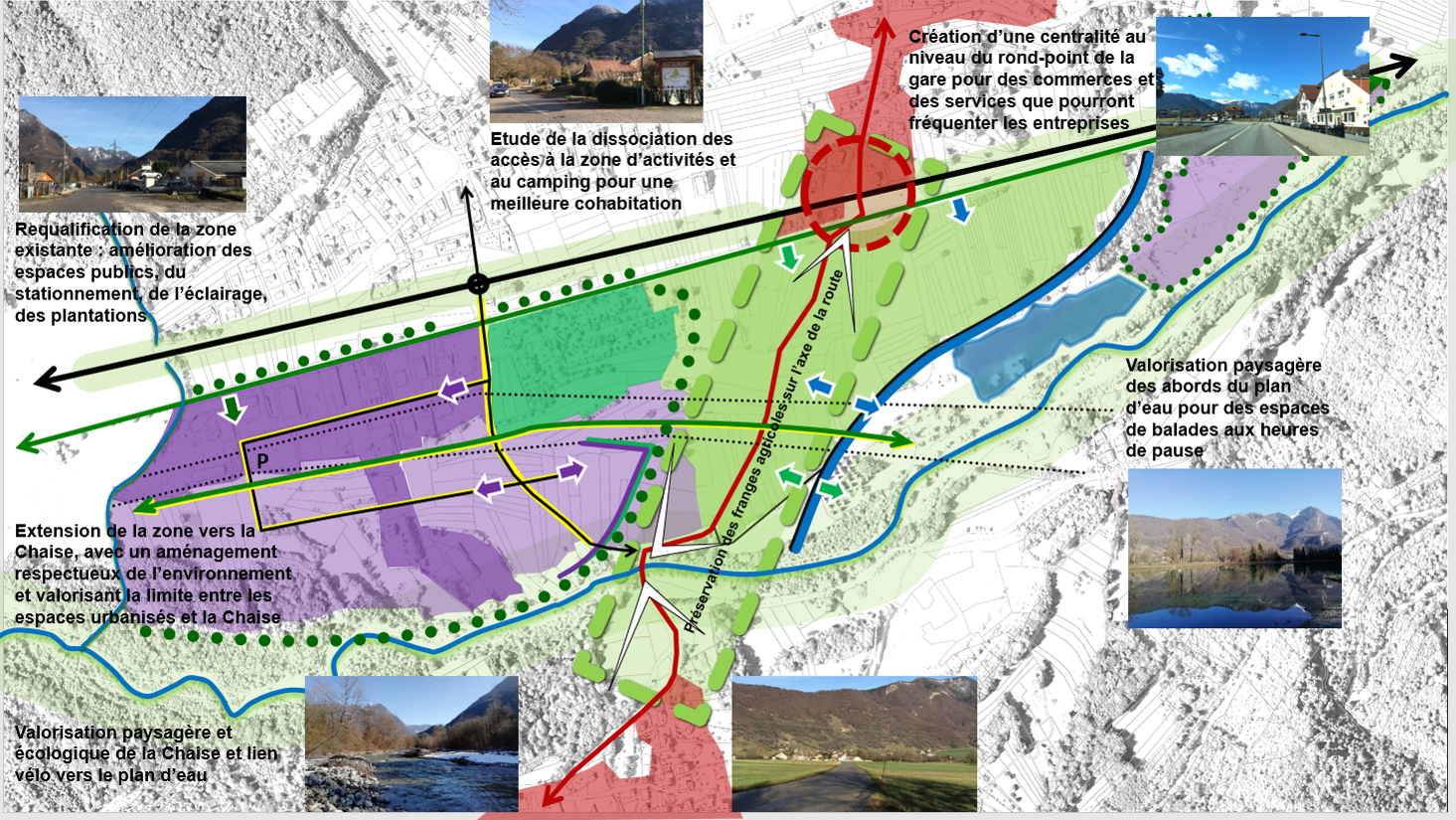 Projet d'extension et de requalification - Le Thermesay : Val de Chaise